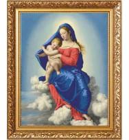 Мадонна с Младенцем в славе