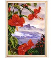 Экзотические цветы № 3