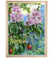 Экзотические цветы № 4