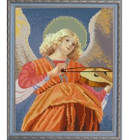 """"""" Ангел играющий на виоле """" Мелоццо да Форли"""